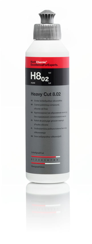 Brusná pasta HEAVY CUT 8.02 - 250 ml Koch 312250
