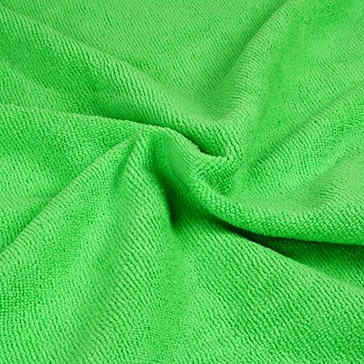 Podlahová mikrofázová utěrka čistící zelená R9670