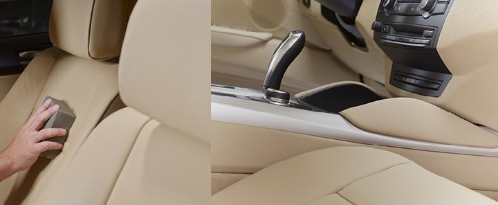 Pečujte o interiér vozu šetrně a s láskou! POL STAR: Unikátní na čištění kůže i dalších textilií