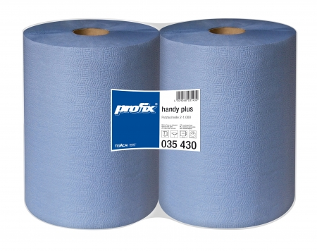 Papírové utěrky v roli Temca T035430, 2-vrstvé, 38x36 cm