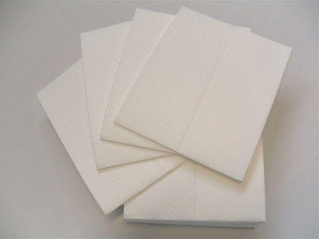 Papírové utěrky v kartonu Nordvlies Wipex Airlaid 190530, 30x38 cm