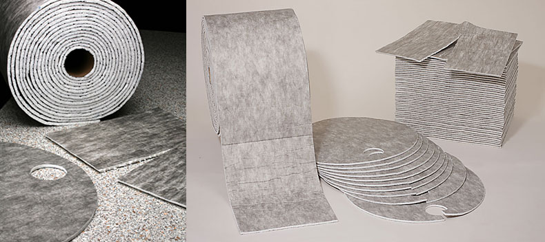 Sorpční rohož Nordvlies Ever Soak 22854, 48 ks v roli, rozměr 72x48 cm