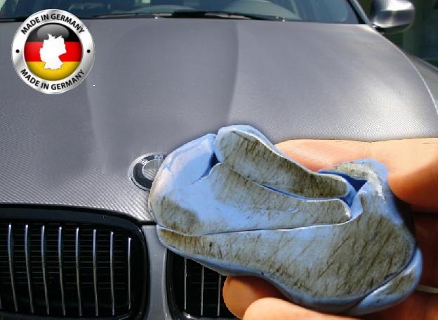 Čistící modelína Reinigungsknete blau pro snadné odstranění nečistot z laku