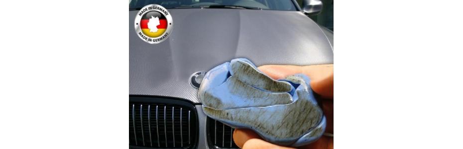 Čistící modelína Reinigungsknete blau pro snadné odstranění nečistot z laku - čisticí prostředky - ekoGRADO