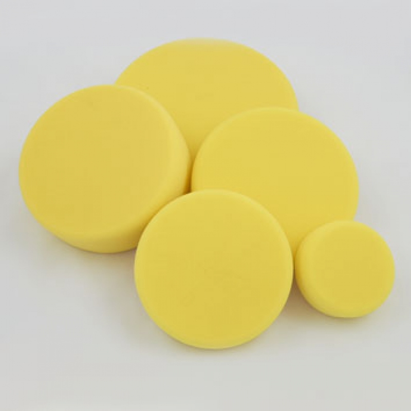 Leštící kotouč žlutý středně tvrdý Koch 80x30 mm 999276