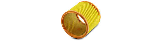 Filtrová patrona Ehrle pro všechny typy vysavačů 175x45x163 mm 002852