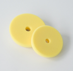 Leštící kotouč Koch žlutý, středně tvrdý V-Form 163x30 mm č.999044V