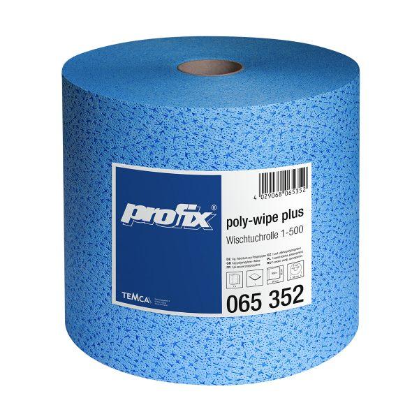 Papírové utěrky v roli - POLY WIPEX T065352, 1-vrstvé, 36 x 32 cm
