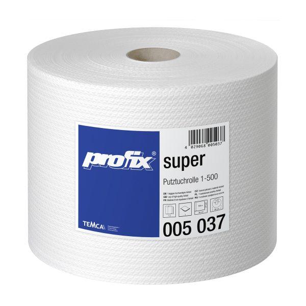 Papírové utěrky v roli - PROFIX SUPER T005037, 1-vrstvé, 27 x 38 cm