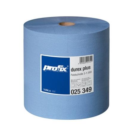Papírové utěrky v roli Temca T025349, 3-vrstvé, 38 x 36 cm