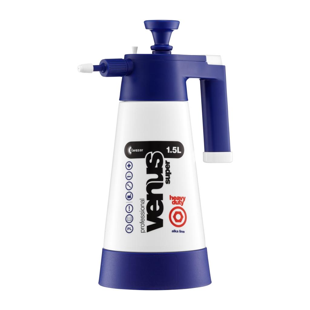Tlakový postřikovač Kwazar VENUS modrý 1,5 l  pro neutrální a  alkalické výrobky 26150