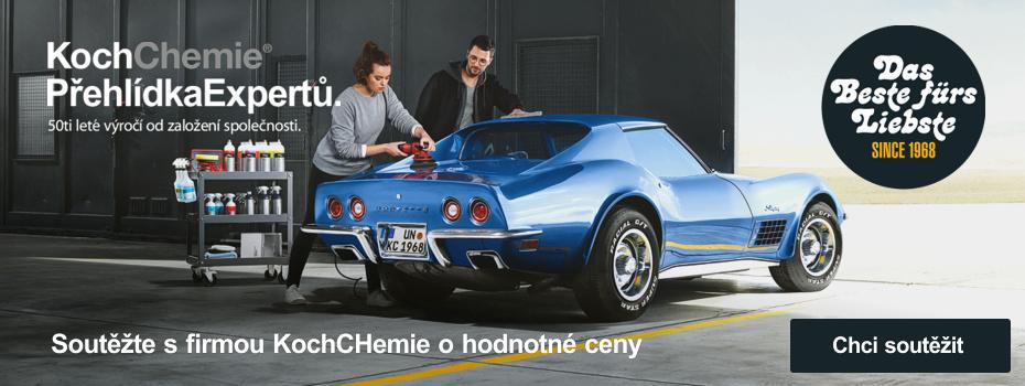 SOUTĚZNÍ AKCE o hodnotné ceny - 50 let výročí firmy KOCH Chemie GmbH