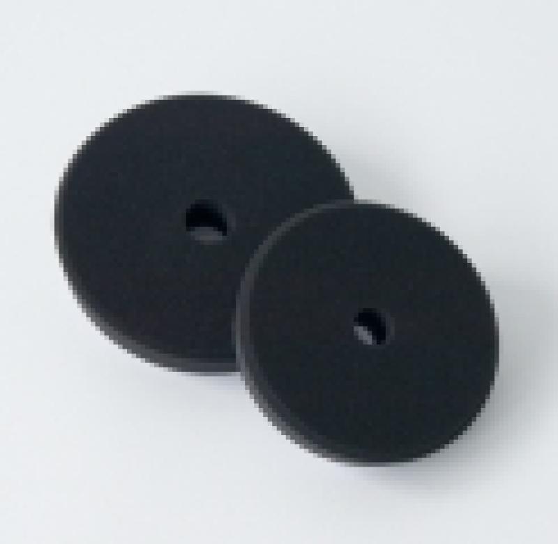 Leštící kotouč černý pro finální leštění V-Form Koch 145x30 mm 999268V