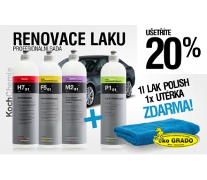 Sada na renovaci laku Koch 3+2 výrobky Zdarma