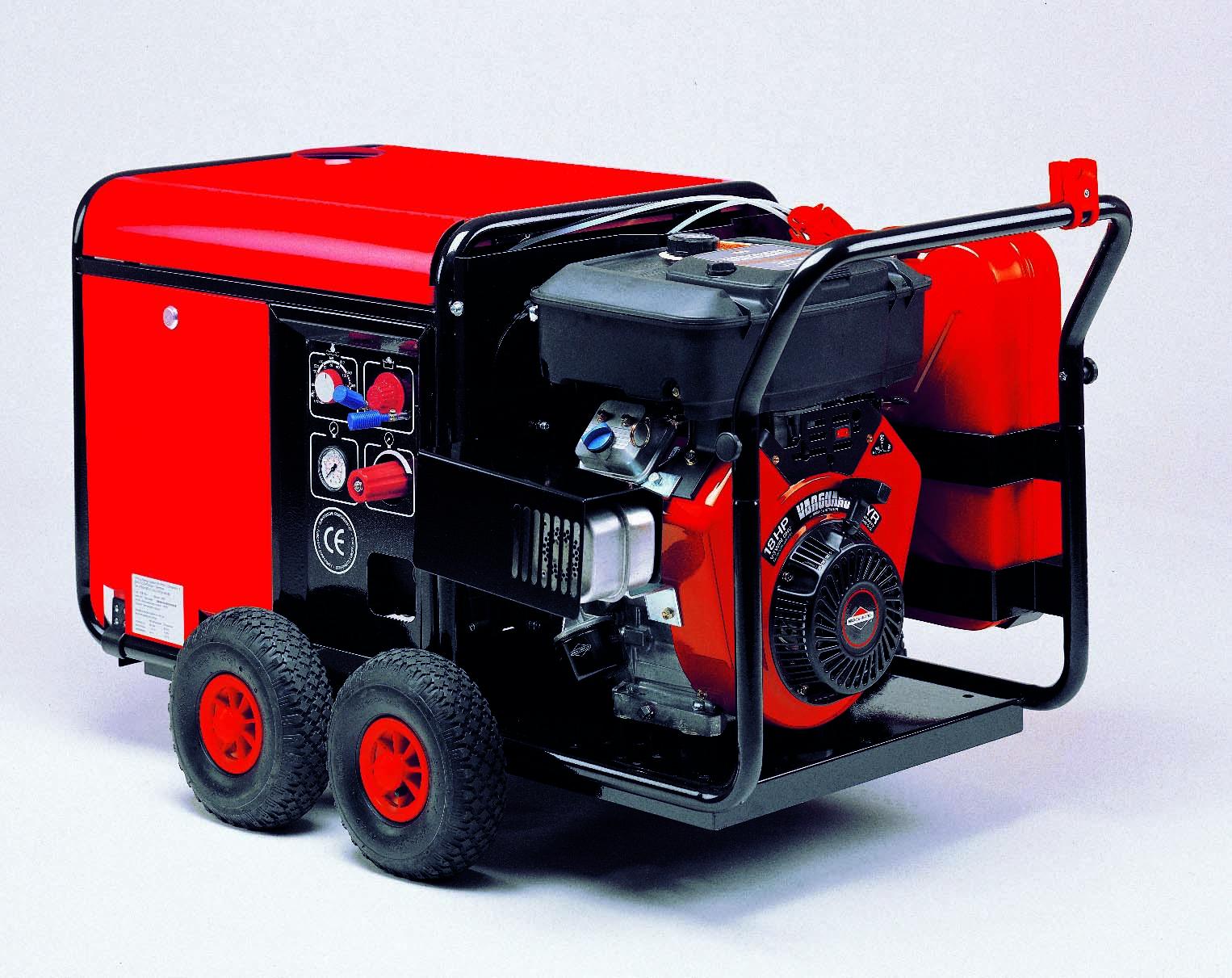 Vysokotlaký horkovodní čistící stroj - EHRLE HDD 1240