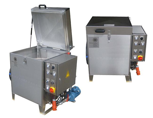 Průmyslové pračky s ohřevem - W a WE