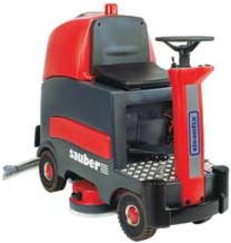 Podlahový mycí stroj Cleanfix RA 800 Sauber včetně baterií a nabíječky, starší model