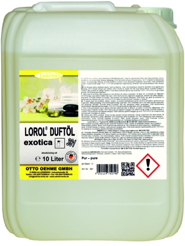 Osvěžovač vzduchu Oehme Lorol Exotic 381 10 l