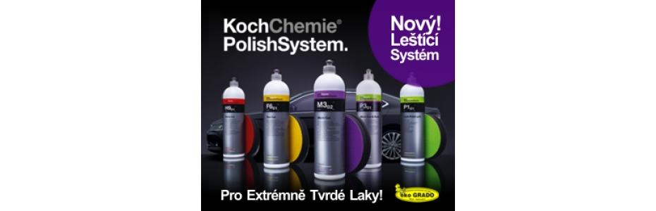 Nový Leštící systém od firmy KOCH - čisticí prostředky - ekoGRADO