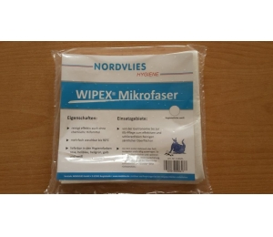 Mikrofázové utěrky bílé Nordvlies 110445 - 5 ks v balení, 40x38 cm