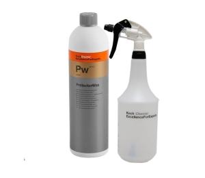 SET Vosk s nano konzervací Koch Protector Wax 1 l včetně odměrky