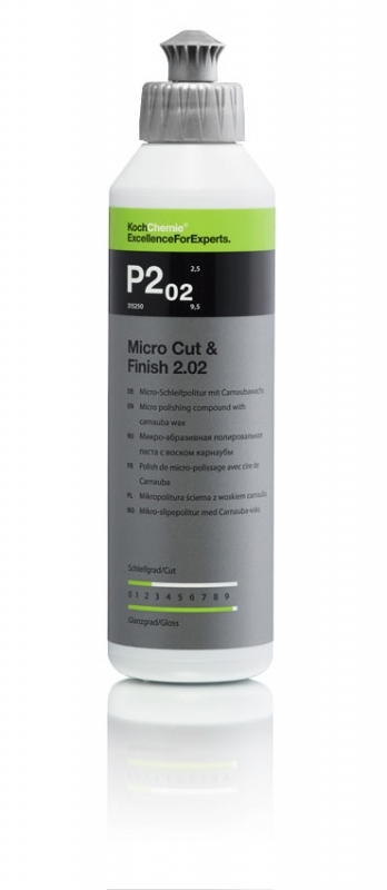 Leštěnka Koch Micro Cut Finish P 2.02 250 ml