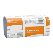 Papírové skládané utěrky modré - KATRIN 36220