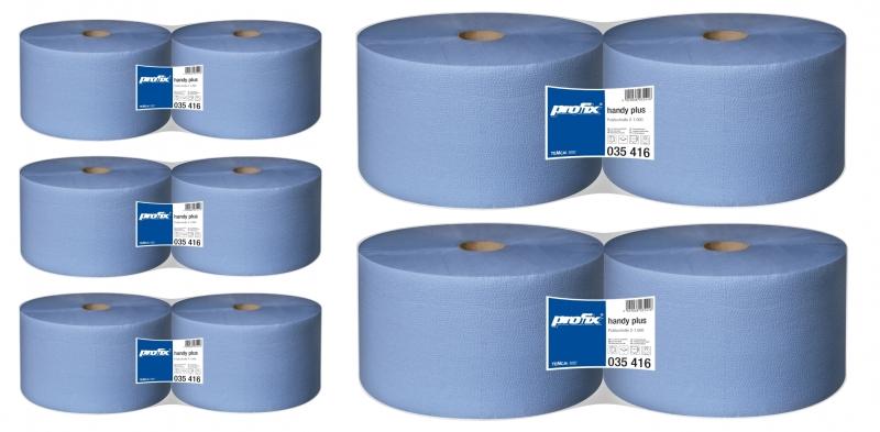 Papírové utěrky v roli Temca T035416 - AKCE - Koupě 10 rolí, 2-vrstvé, 22x36 cm
