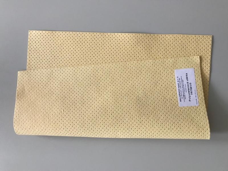 Polyuretanová perforovaná utěrka s bavlněnými vlákny 39x37 cm