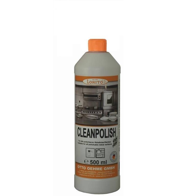Čistič a ošetřovač nerezu Oehme Cleanpolish 0,5 l