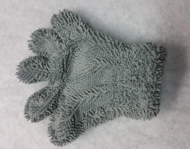 Rukavice na mytí alu ráfků šedá Lemmen X3641805