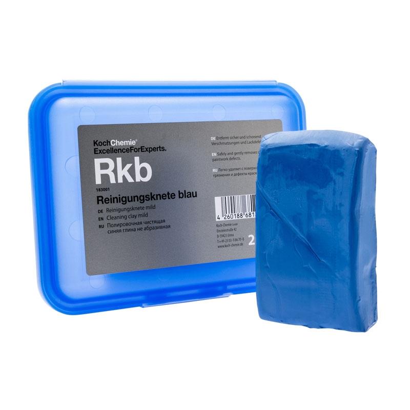 Čistící modelína modrá Koch Clay 200 g