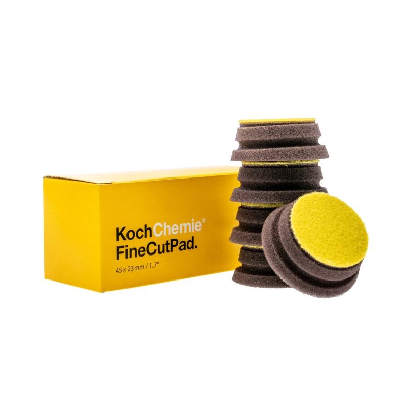 Leštící kotouč Fine Cut Pad žlutý Koch 45x23 mm 999614