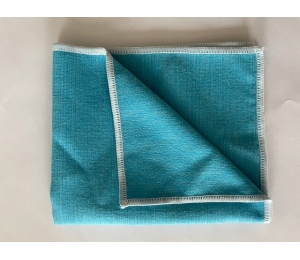 Mikrofázová utěrka modrá 34 x 30 cm Lemmen 10CH011
