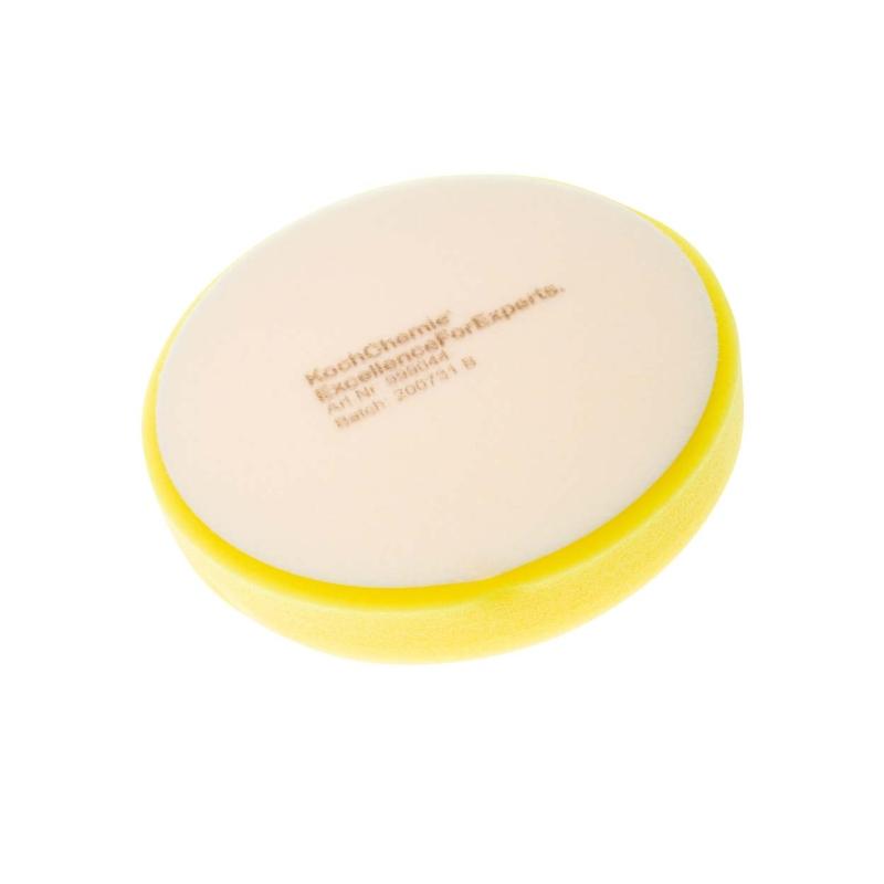 Leštící kotouč žlutý středně tvrdý Koch 160x30 mm 999044