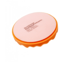 Antihologramní kotouč oranžový vroubkový Koch 160x25 mm 999257