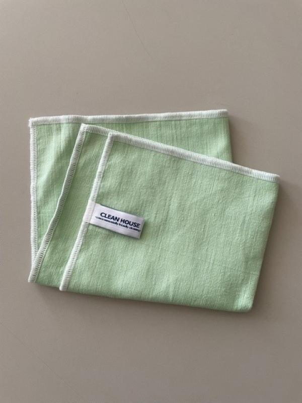 Mikrofázová utěrka zelená 34 x 30 cm Lemmen 10CH013