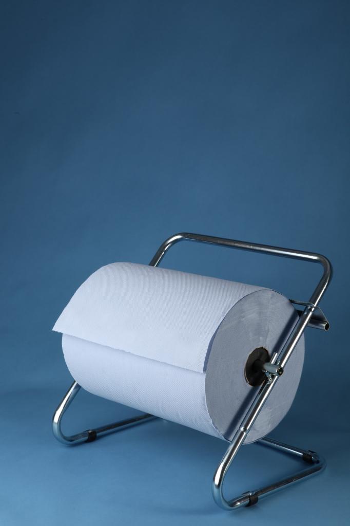 VÝPRODEJ - Stěnový držák papíru chromový - 0967, šíře 40 cm