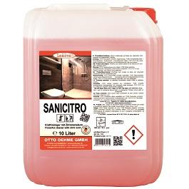 Čistící prostředek na toalety - SANICITRO 520 10 l